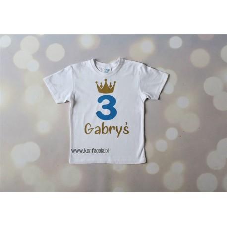 Koszulka na 3 urodziny