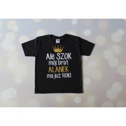 Koszulka dla rodzeństwa na roczek